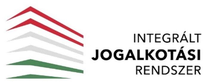Az Integrált Jogalkotási Rendszer piktogramja
