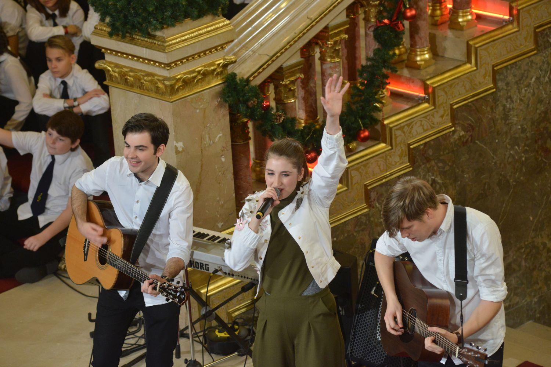 Parlamenti gyermekkarácsony 2017 - Margaret Island zenekar