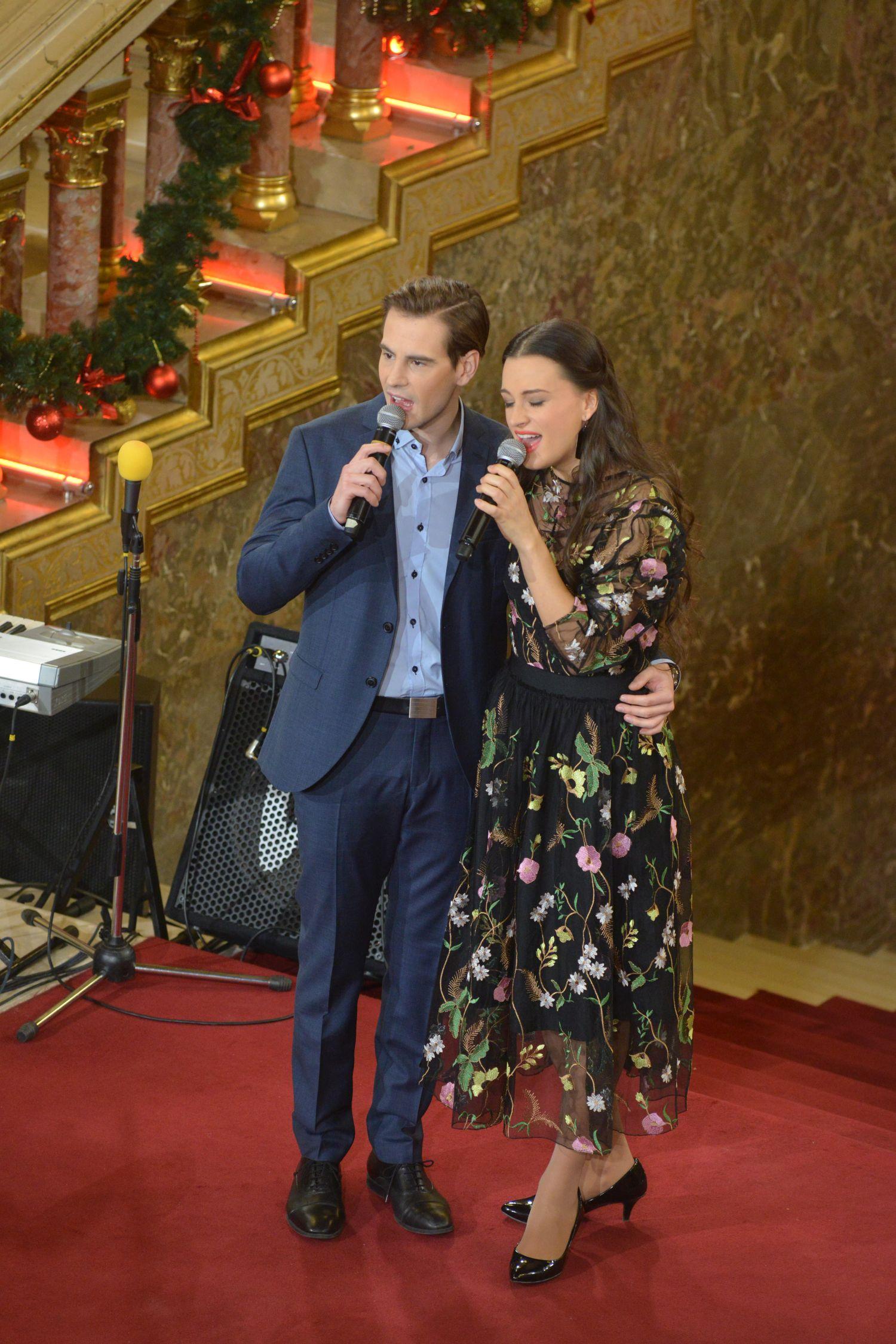 Parlamenti gyermekkarácsony 2017 - a Budapesti Operettszínház előadói – Gubik Petra és Kocsis Dénes